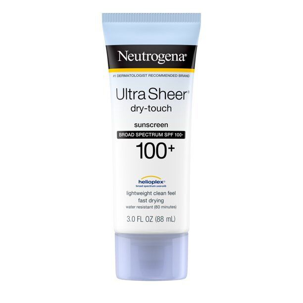 Neutrogena - Ultra Sheer Dry-Touch SPF 100 Sunscreen Lotion, - 2 Pack