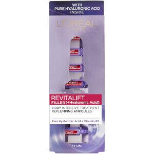L'Oréal Paris - Revitalift Filler with Hyaluronic Acid Replumping Ampoules 7 x