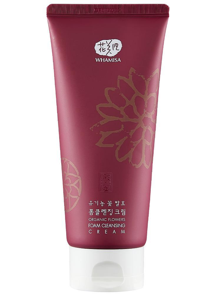 Whamisa - Organic Flowers Foam Cleansing Cream