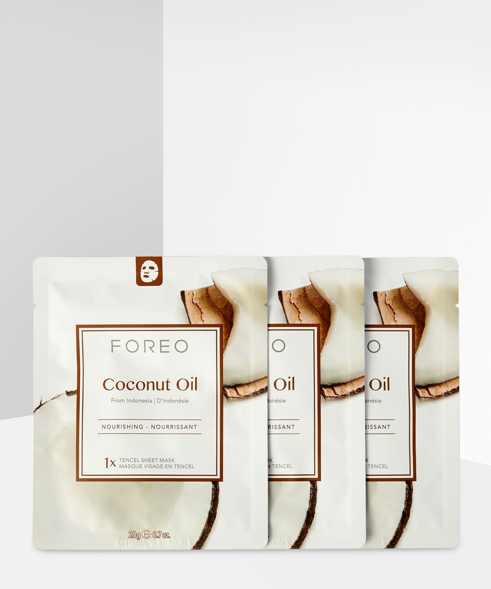 Foreo - Coconut Oil Nourishing Sheet Face Mask