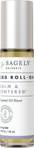 Sagely Naturals - Calm & Centered CBD Roll-On
