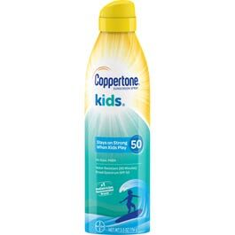 Coppertone - Kids Sunscreen Continuous Spray, SPF 50