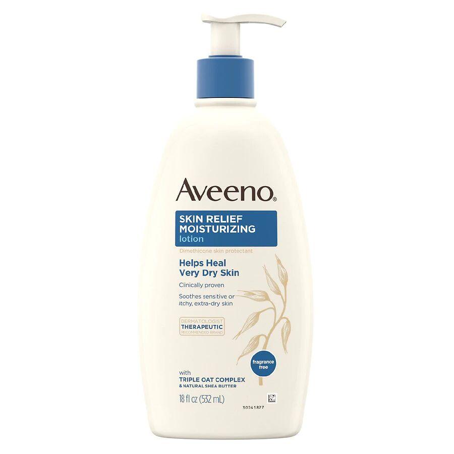 Aveeno - Sensitive Skin Relief Moisturizing Lotion Fragrance-Free