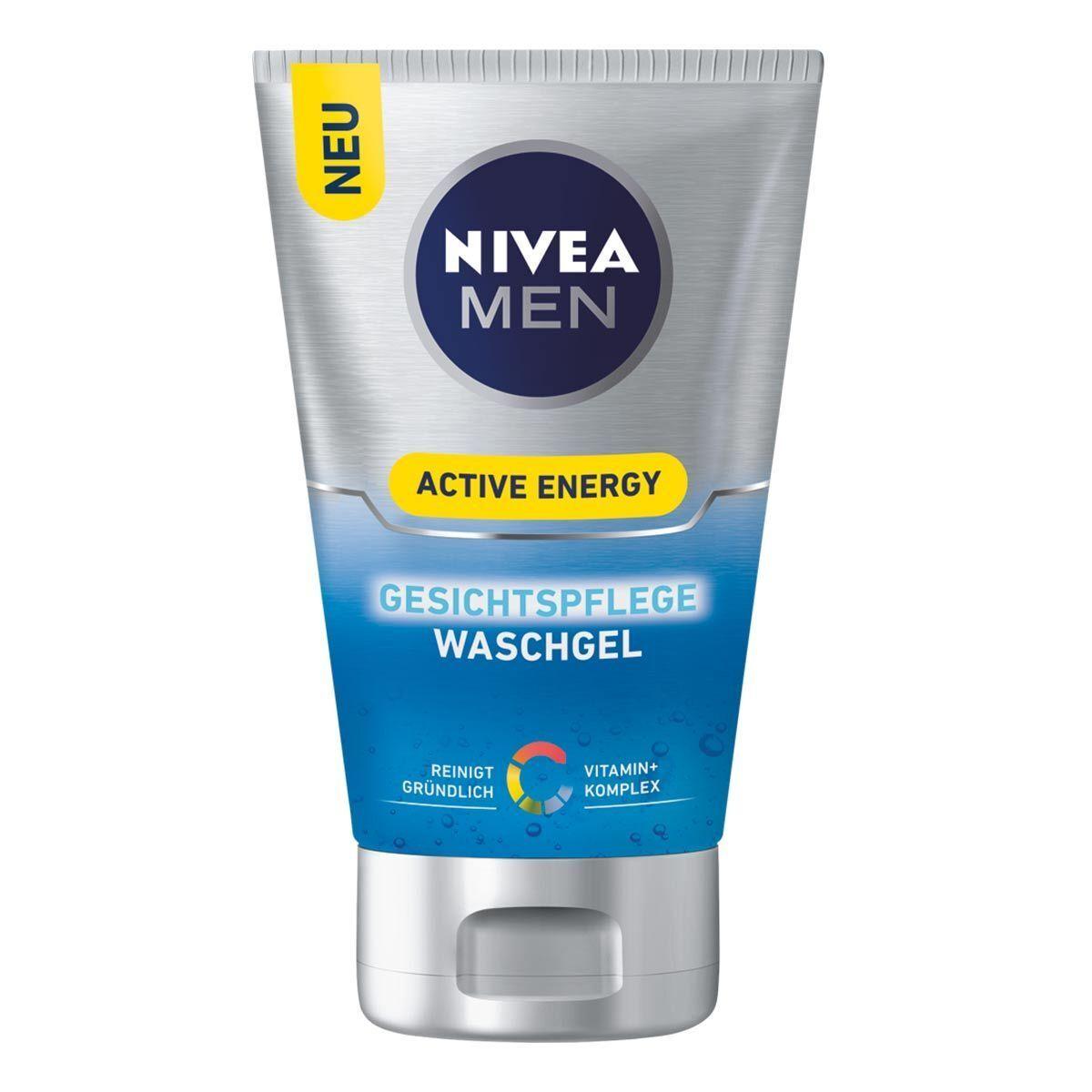 Nivea - Active Energy Face Wash