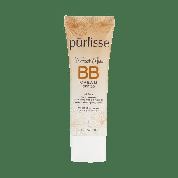 Purlisse - BB Cream SPF 30 Perfect Glow Oil-Free Sensitive Skin - Tan Deep