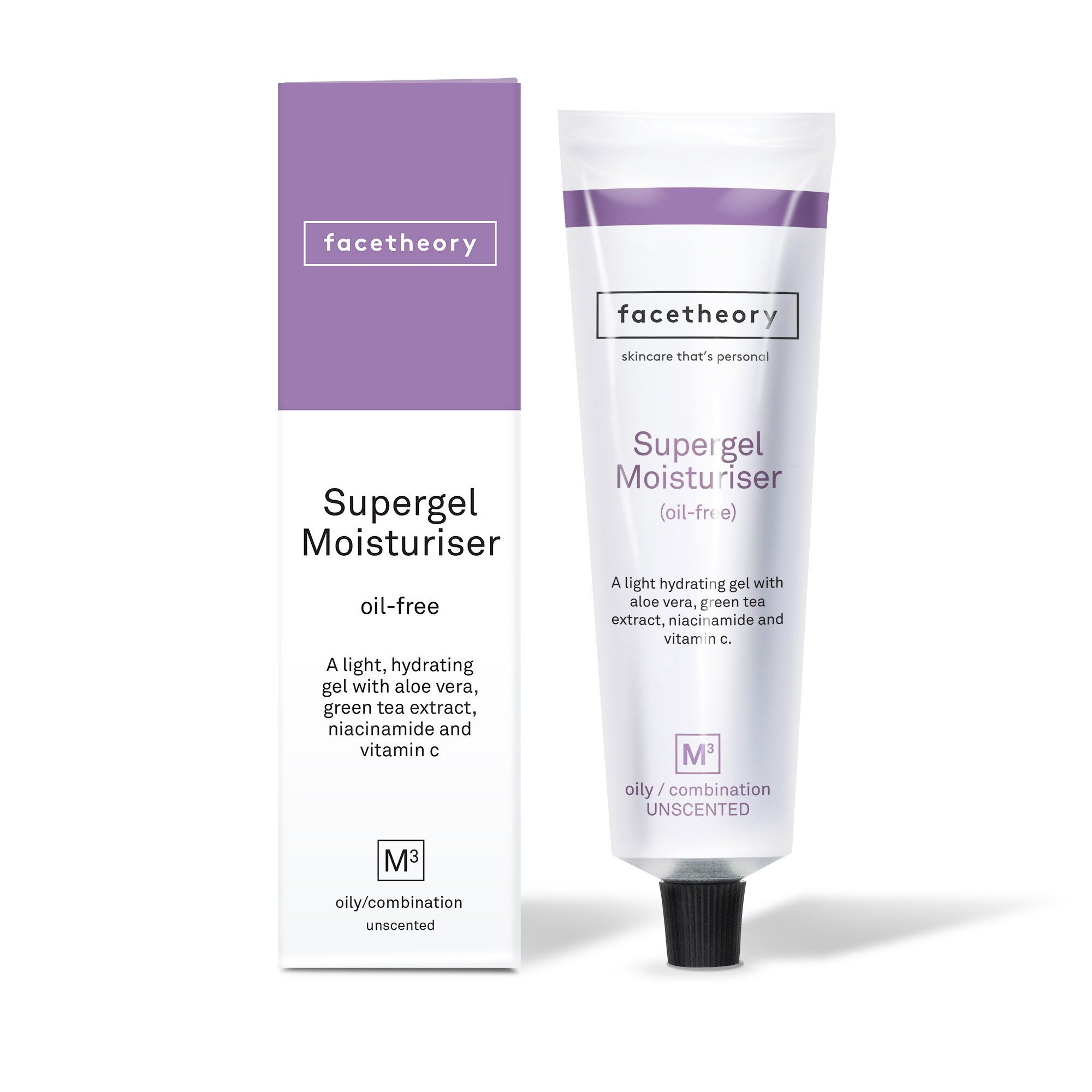 facetheory.com - SUPERGEL OIL-FREE MOISTURISER M3 FOR OILY AND ACNE-PRONE SKIN