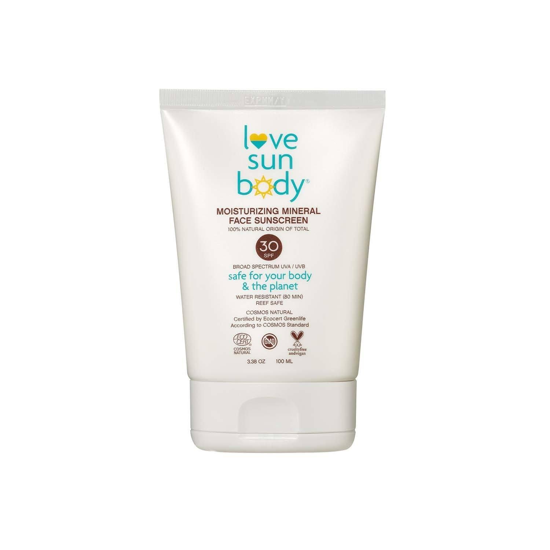 Love Sun Body - Moisturizing Mineral Face Sunscreen SPF 30