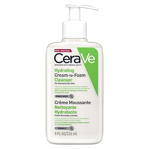 Cerave - CeraVe Hydrating Cream to Foam Cleanser