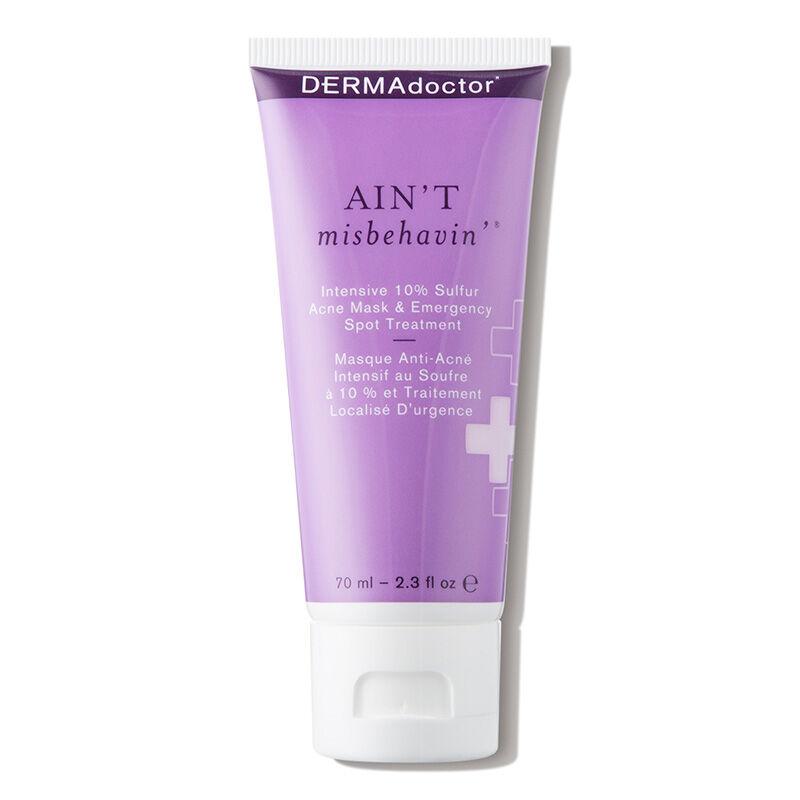 DERMAdoctor - Ain't Misbehavin' Intensive 10% Sulfur Acne Mask & Emergency Spot Treatment