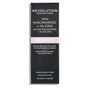 Revolution - Skincare 10% Niacinamide + 1% Zinc Blemish & Pore Refining Serum