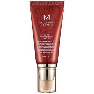 Missha - MISSHA M Perfect Cover BB Cream /PA+++ - No.23/Natural Beige SPF 42