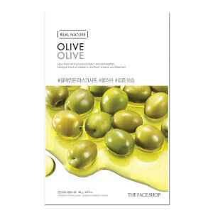 THE FACE SHOP - Real Nature Sheet Mask Olive
