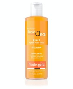 Neutrogena - Rapid Clear 2-in-1 Fight & Fade Salicylic & Glycolic Acid Toner for Acne & Marks