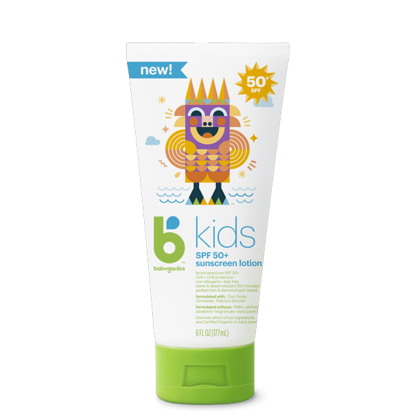 BabyGanics - Kids Sunscreen Lotion, SPF 50+,