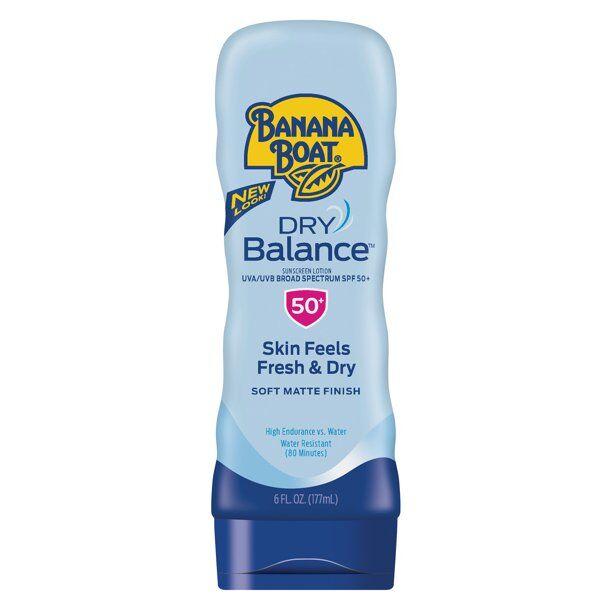 Banana Boat - Dry Balance Sunscreen Lotion SPF 50+,