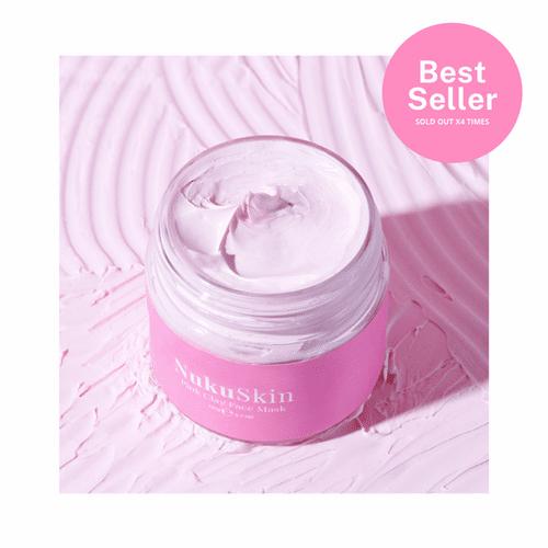 wix - Pink Clay Mask | Nuku Skin