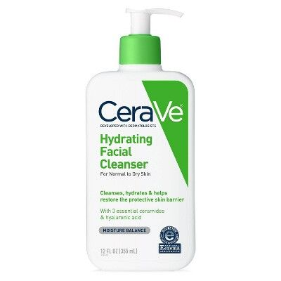 CeraVe - Hydrating Facial Cleanser For Normal To Dry Skin Fragrance Free -