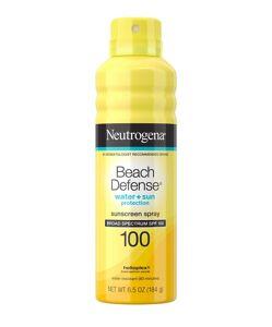 Neutrogena - ® Beach Defense ® Water + Sun Protection Spray Broad Spectrum SPF 100,