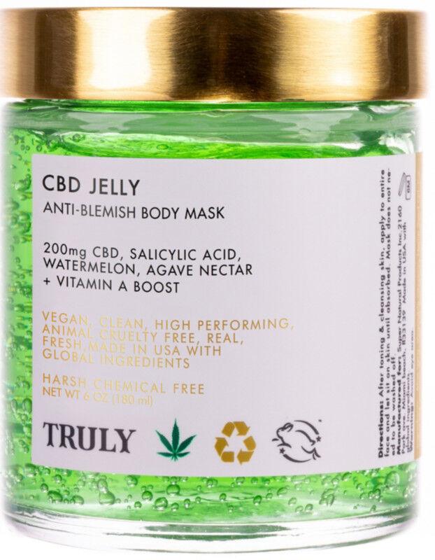 Truly - CBD Jelly Anti-Blemish Body Mask