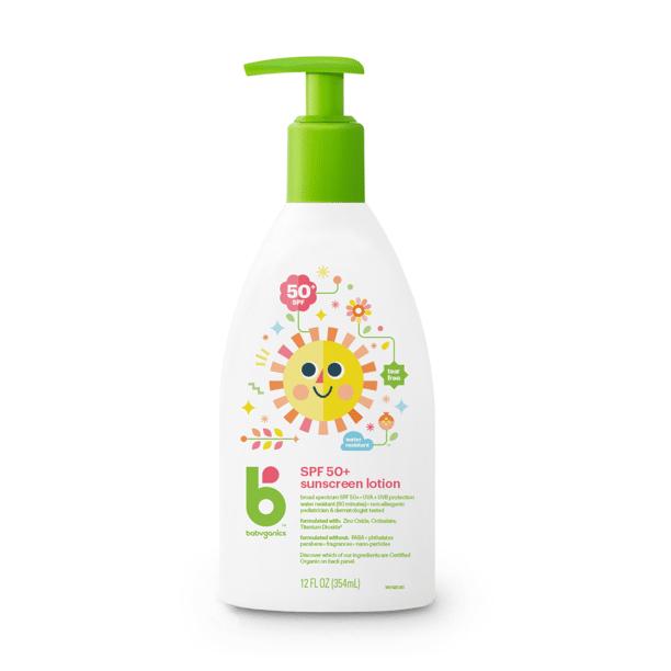 BabyGanics - Sunscreen Lotion SPF 50,