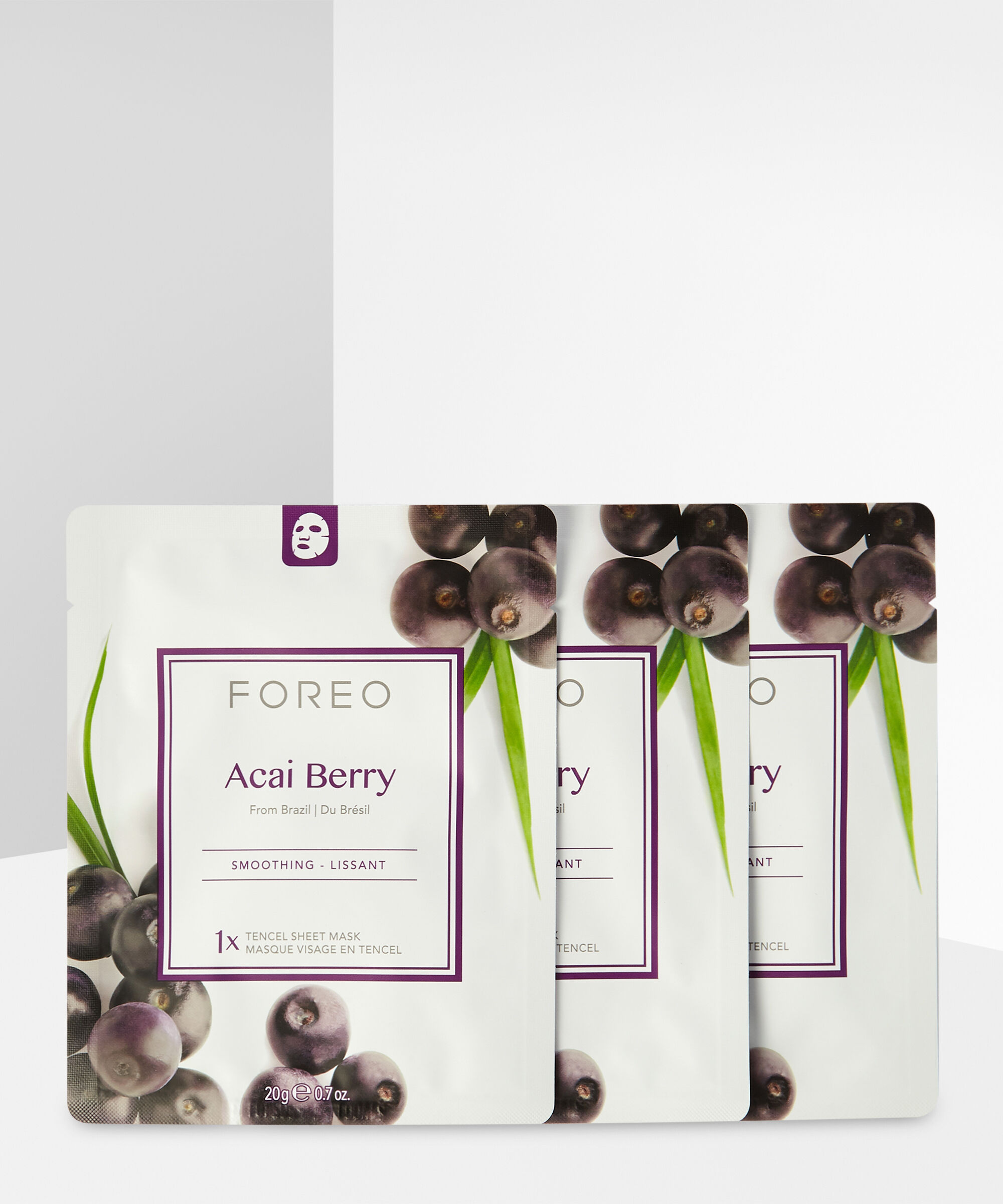 Foreo - Acai Berry Firming Sheet Face Mask