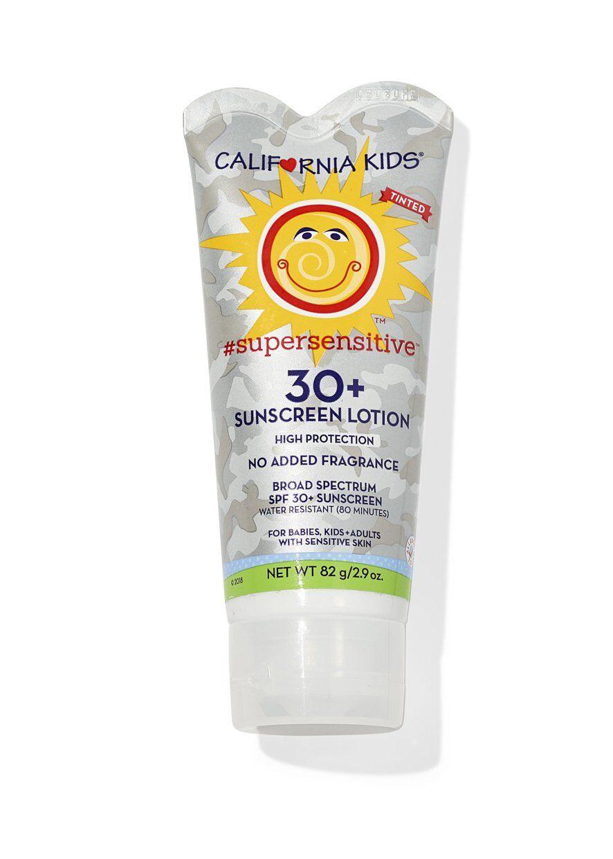 California Baby - California Kids® #supersensitive™ Tinted Broad Spectrum SPF 30+ Sunscreen