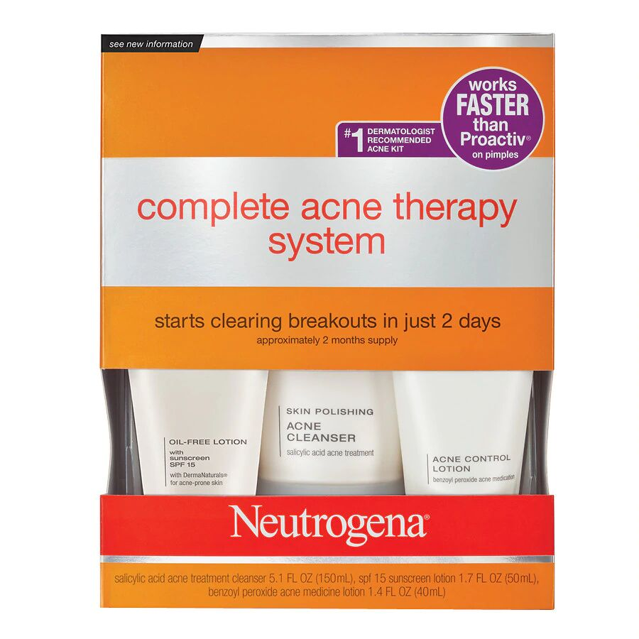 Neutrogena Advanced Solutions - Complete Acne Therapy System