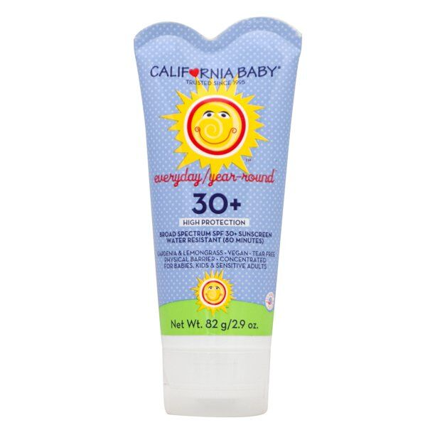 California Baby - Everyday / Year-Round Sunscreen Lotion - SPF 30