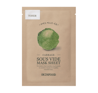 SKINFOOD since 1957 - Cabbage Sous Vide Mask Sheet