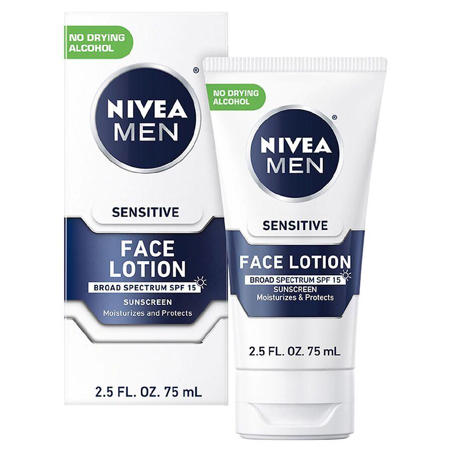 Nivea Men - Sensitive Face Lotion with SPF 15