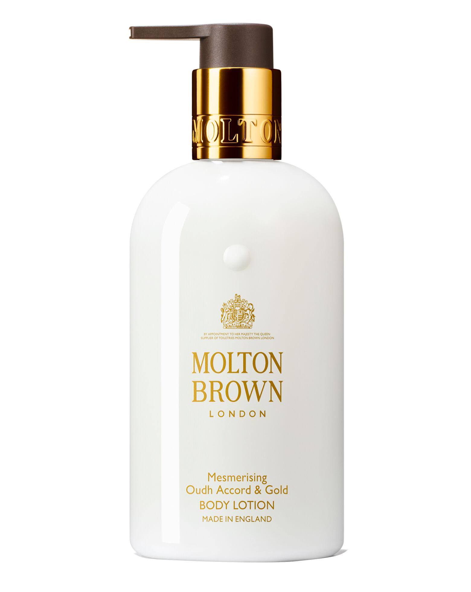 MOLTON BROWN - Mesmerising Ouadh Accord & Gold Body Lotion