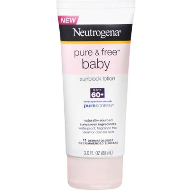 Neutrogena - Pure & Free Baby Sunblock Lotion SPF 60+