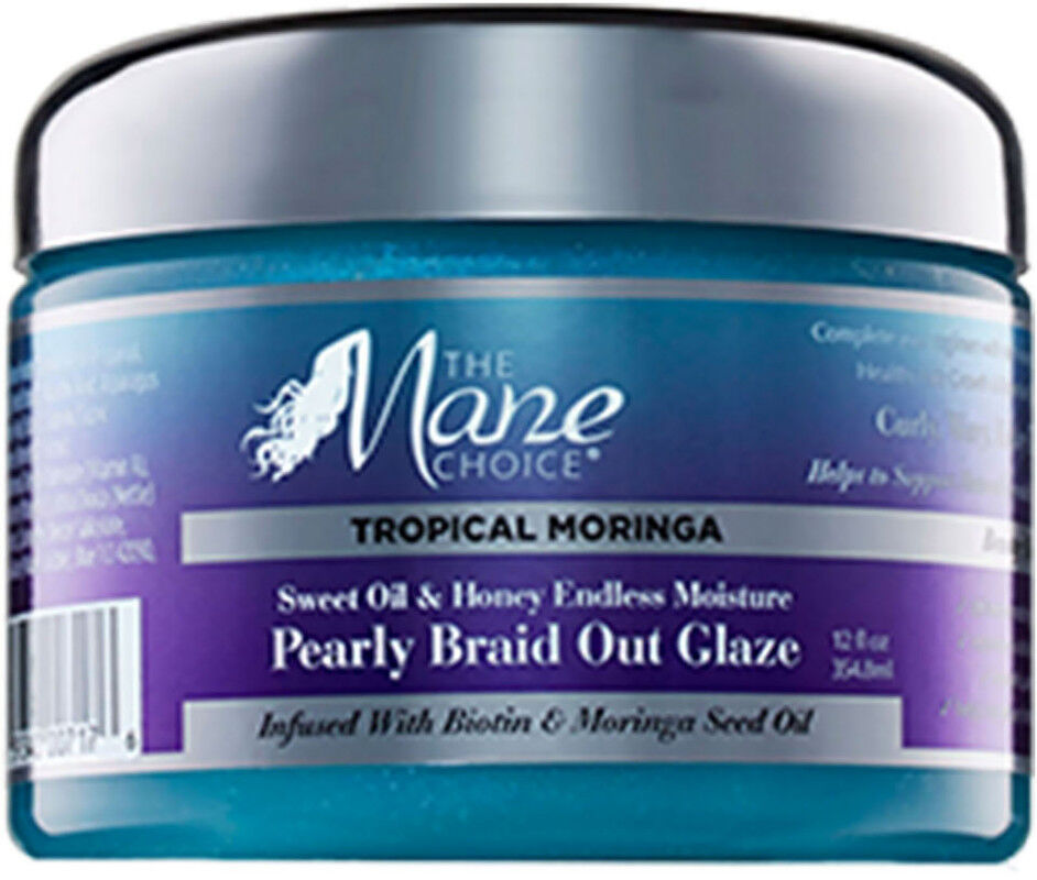 The Mane Choice - Tropical Moringa Sweet Oil & Honey Endless Moisture Pearly Braid Out Glaze