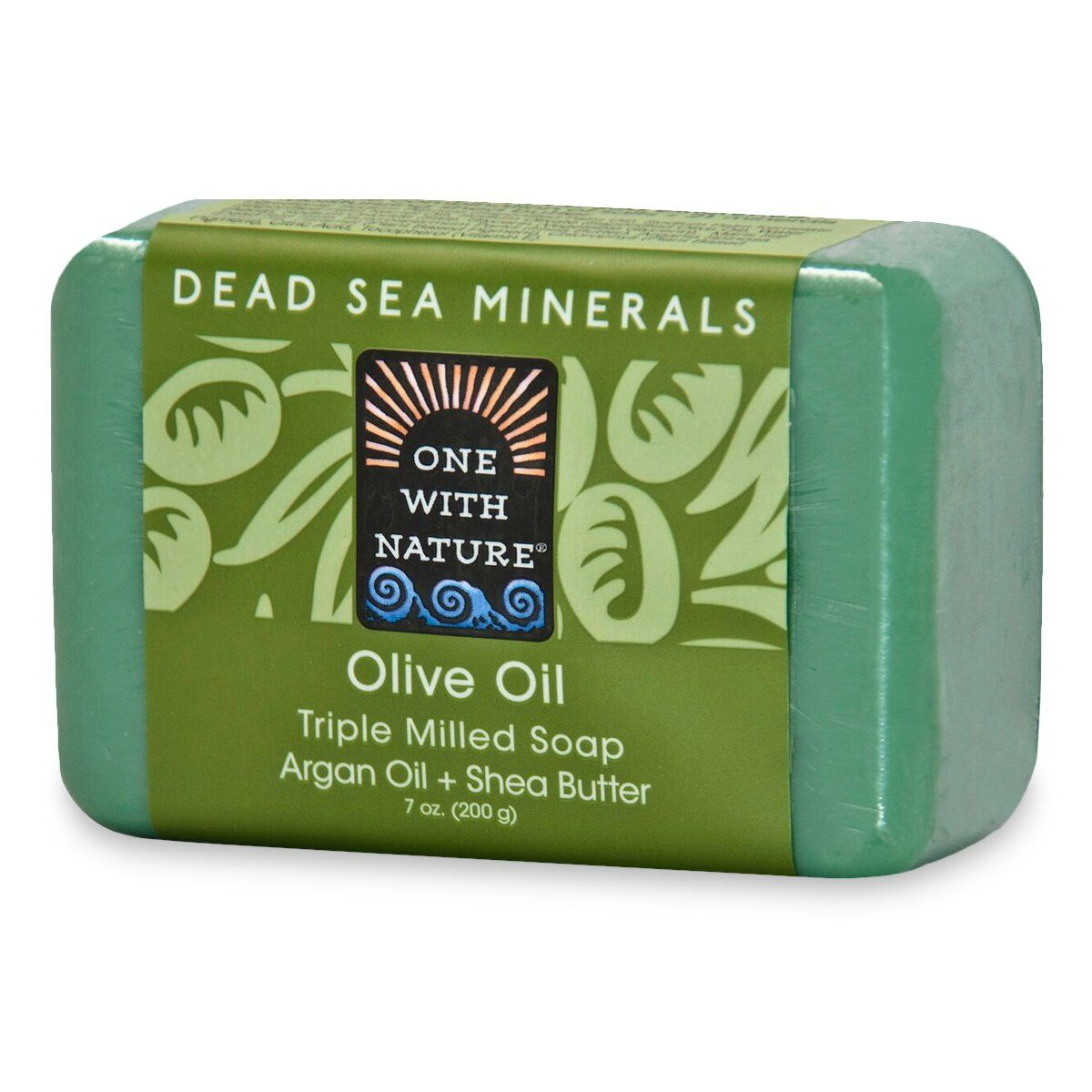 One With Nature - Dead Sea Mineral Soap - Olive Oil
