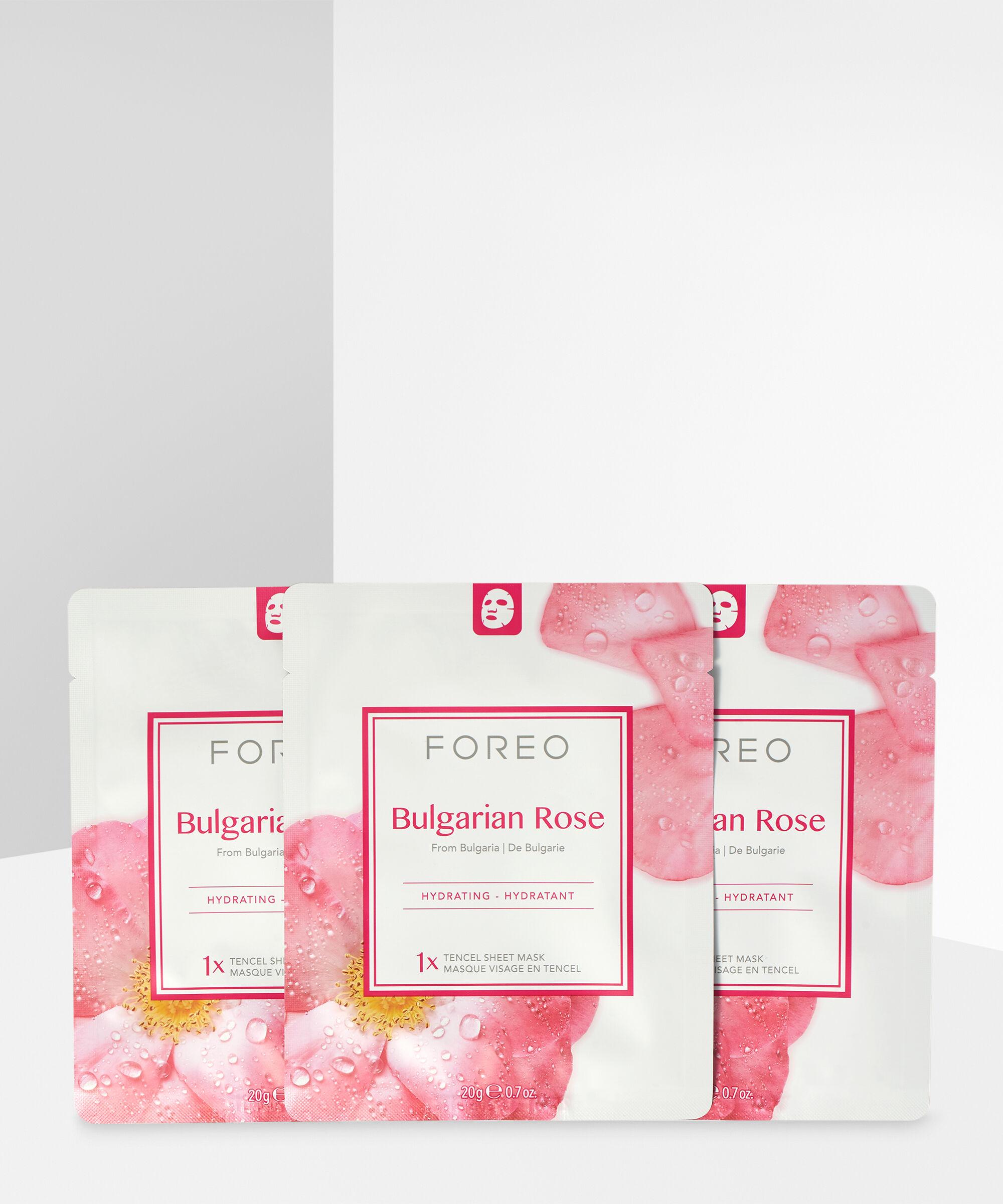 Foreo - Bulgarian Rose Moisture-Boosting Sheet Face Mask