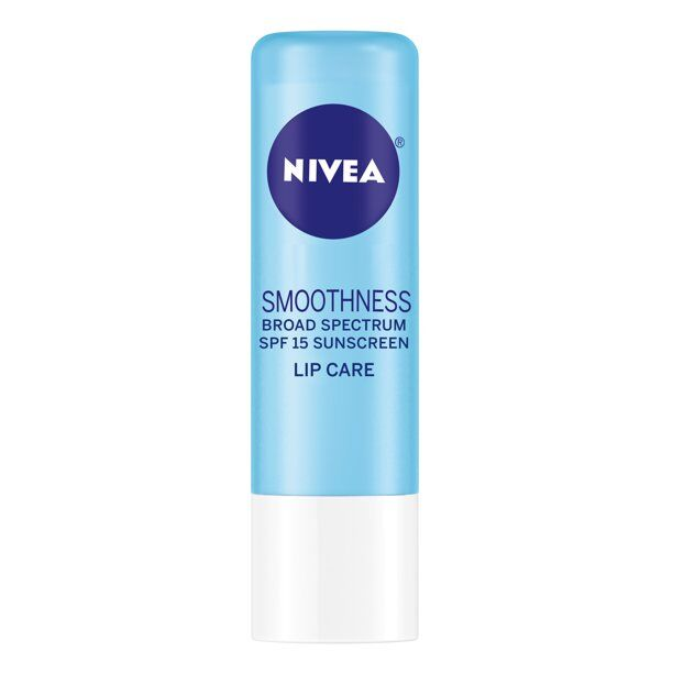 NIVEA - ® Smoothness Lip Care with Broad Spectrum SPF 15 Sunscreen .