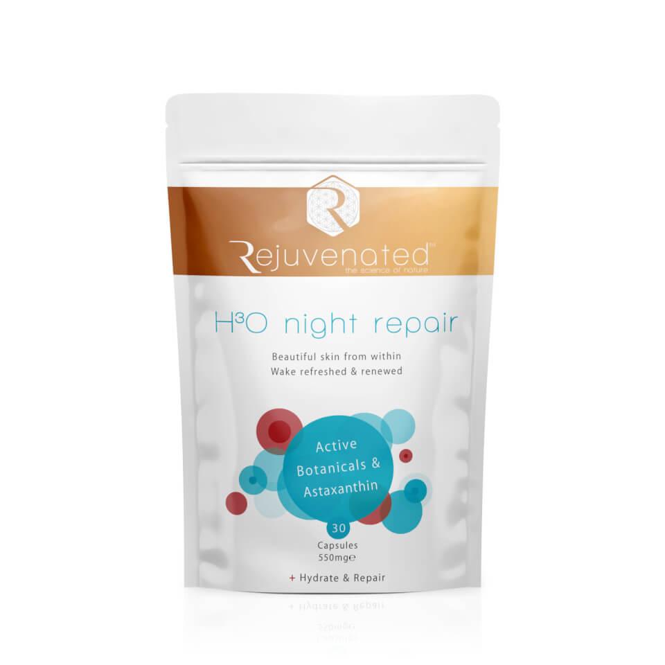 Rejuvenated - H3O Night Repair - 30 Capsules