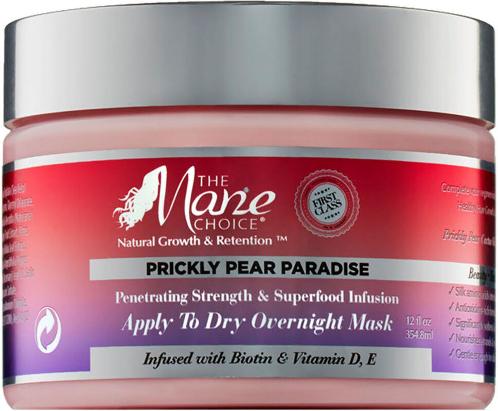 The Mane Choice - Prickly Pear Paradise Apply To Dry Overnight Mask