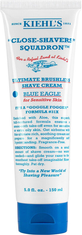 Kiehl's Since 1851 - Ultimate Brushless Shave Cream - Blue Eagle