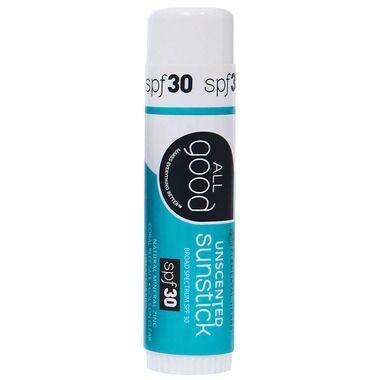 All Good - SPF 30 Unscented Sunstick