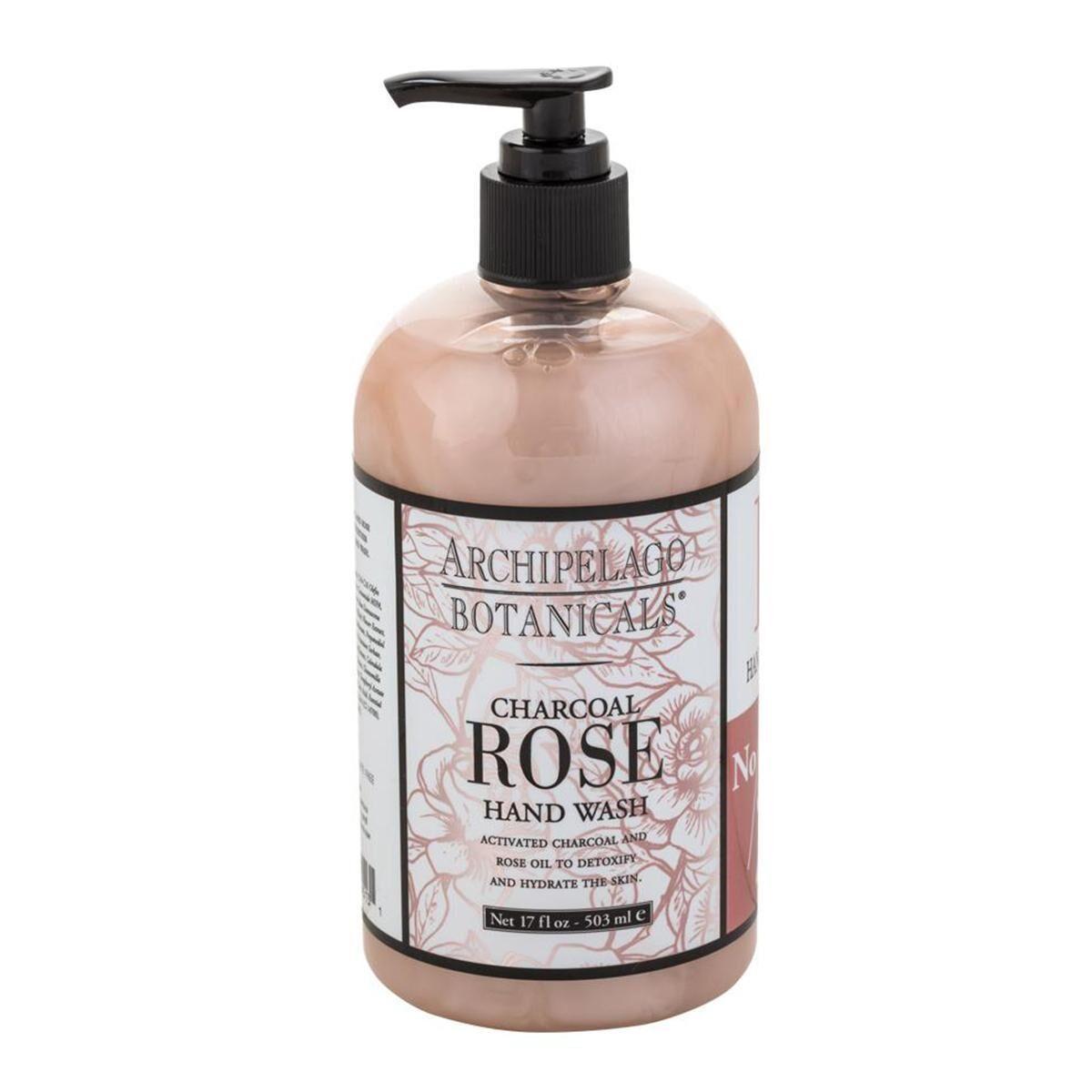 Archipelago Botanicals - Charcoal Rose Hand Wash
