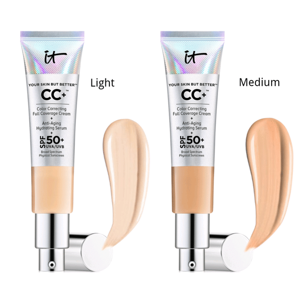 It Cosmetics - Your Skin but Better CC Cream with SPF 50 Plus - 1.08 Ounces