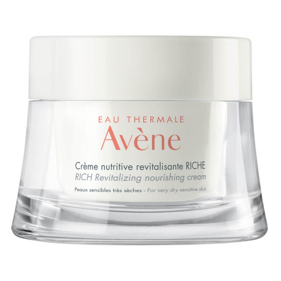 Avène - Les Essentiels Rich Revitalizing Nourishing Cream Moisturiser for Dry, Sensitive Skin
