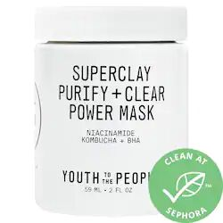 Superclay Purify + Clear Power Mask with Niacinamide