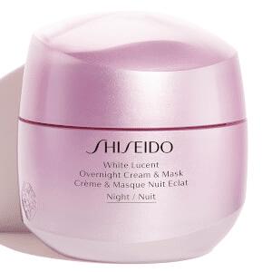 Shiseido - White Lucent Overnight Cream and Mask