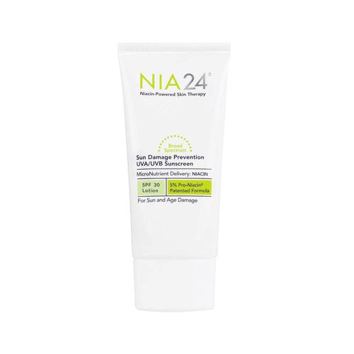 NIA24 - Sun Damage Prevention UVA UVB Sunscreen SPF 30