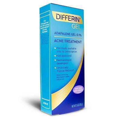 Differin - Adapalene Gel 0.1% Acne Treatment