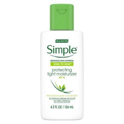 Simple - Kind to Skin Protecting Light Moisturizer SPF 15