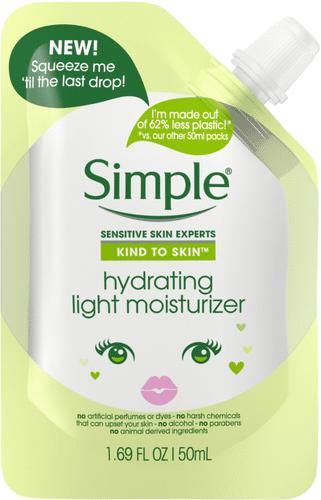 Simple - Hydrating Light Moisturizer Pouch
