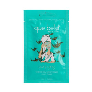 Que Bella - Purifying Tea Tree and Witch Hazel Mud Face Mask